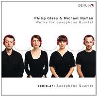 Works for Saxophone Quartet by GLASS / NYMAN (2012-01-31)