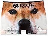 (アウトドアプロダクツ)OUTDOOR PRODUCTS アニマルシームレスボクサーパンツ/メンズ AC2011B124 90B イヌ L