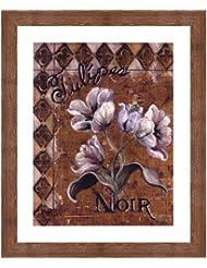 Tulipes Noir by Shari White – 20 x 24インチ – アートプリントポスター 20  x 24  Inch LE_44485-F10570-20x24