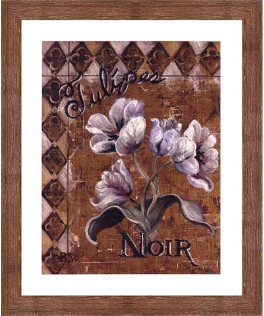 反論パキスタン人賢いTulipes Noir by Shari White – 20 x 24インチ – アートプリントポスター 20  x 24  Inch LE_44485-F10570-20x24
