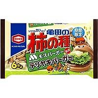亀田製菓 亀田の柿の種テリヤキバーガー風味6袋詰 182g×12袋
