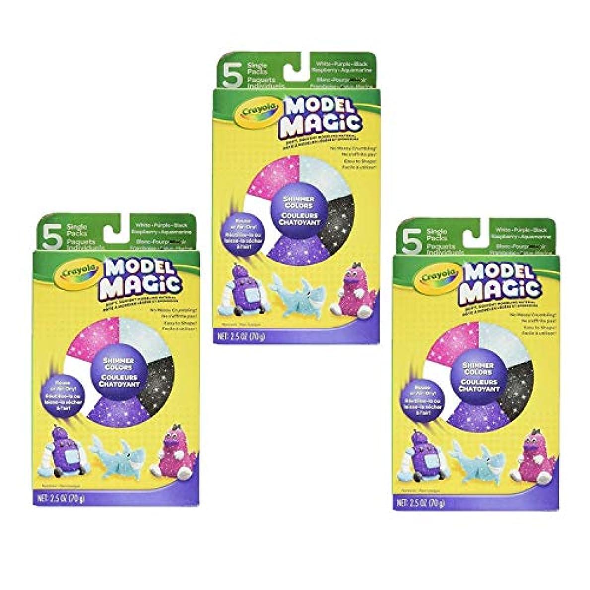 Crayolaモデルマジックバラエティーpack-shimmer、 3 Pack CYO232111