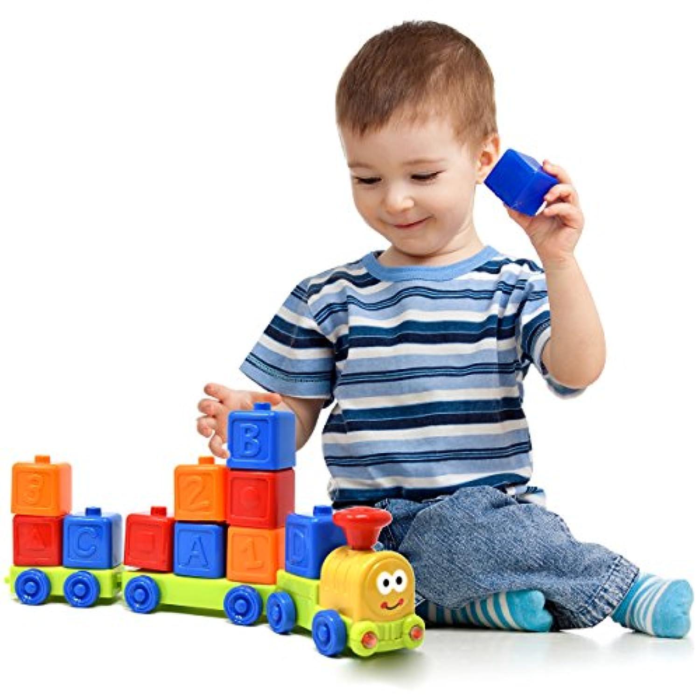 My First Train Set – サウンドとライトMusical ABC、数、スタックとSort列車の赤ちゃん、幼児、子供、The Best Early Explorer教育おもちゃfor Children