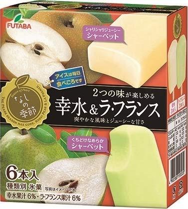 フタバ食品 なしの季節 幸水&ラ・フランス55ml×6本×8箱