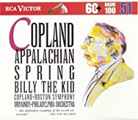 Appalachian Spring / Billy the Kid by Copland (1998-02-15)