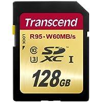 Transcend SDXCカード 128GB UHS-I U3対応 (最大読込速度95MB/s,最大書込速度60MB/s) U3シリーズ 4K動画撮影 [国内正規品] TS128GSDU3