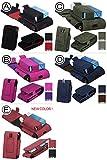 【iQOS アイコス】アイコス専用ケース 予備ホルダー収納ポケット付き スエード製 カラー B/ピンク