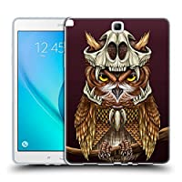 Head Case Designs ナイトオウル ワイルドライフ・スカルクラウン Samsung Galaxy Tab A 9.7 専用ソフトジェルケース