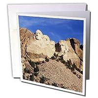 Danita Delimont–South Dakota–Mt Rushmore国立記念碑、サウスダコタ州、アメリカ–us42wbi0006–Walter Bibikow–グリーティングカード Set of 6 Greeting Cards