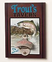Big Sky Carvers Trout's Tavern Bottle Opener [並行輸入品]