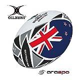 ギルバート GILBERT 2019年 RWC フラッグボール ニュージーランド ミニ GB-9079 ラグビーボール ワールドカップ