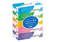 箱ティッシュ【大王製紙 エリエールティッシュ180W】60箱(5箱X12パック)
