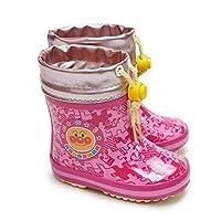 [ムーンスター] アンパンマン ベビー長靴 BB APM20U レインシューズ 防寒 ゴム長 雪国寒冷地仕様 あんぱんまん ピンク 12.0cm