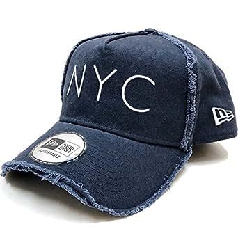 NEW ERA(ニューエラ)9FORTY NYC A-Frame トラッカーキャップ・ダメージ加工(ネイビー)