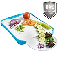 (Chop to Plate) - VonShef Chop to Plate Antimicrobial Chopping Board
