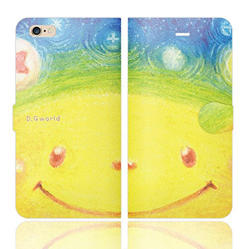 [iPhone6 Plus 6S Plus 兼用 手帳型 ケース カバー] D.G WORLD 02