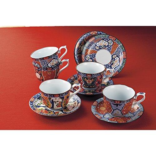 西海陶器 献上古伊万里 コーヒー碗皿揃 31802