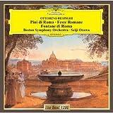 レスピーギ:交響詩「ローマの松」「ローマの祭り」「ローマの噴水」 画像