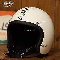 TT&CO. スーパーマグナム センターチェッカー 乗車用 SG/PSC/DOT規格品 ジェットヘルメット