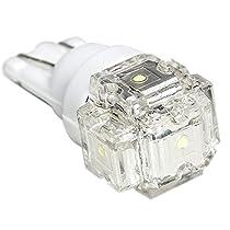 12V車用 FLUX5連 T10 LED ウェッジ球 ホワイト