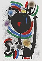 Joan Miro ジクレープリント キャンバス 印刷 複製画 絵画 ポスター (構成1972)