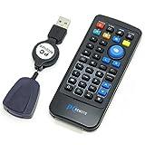 ルートアール PC用カード型リモコン USB赤外線受光部セット RW-PCM37BK