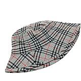 バーバリー 帽子 (バーバリー)BURBERRY チェック柄 ハット帽子 帽子 キャンバス レディース 中古