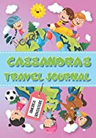 Cassandra's Travel Journal: Personalised Awesome Activities Book for USA Adventures