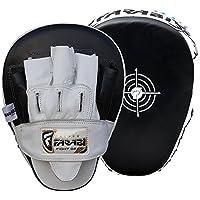 Boxingフォーカスパッドフック& Jab MittsボクシングトレーニングパッドMMAキックボクシングパッドの革製