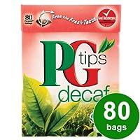PG Tips Decaf (PGティップス デカフェティー 80袋)- 80 Bags / 250g【海外直送品】【並行輸入品】