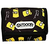 OUTDOOR PRODUCTS OUTDOOR PRODUCTS × The Simpsons ウォレット バート フェイス SSAP411