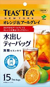 伊藤園 TEAS' TEA 水出しティーバッグ オレンジ&アールグレイ 15袋