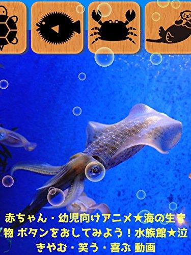 赤ちゃん・幼児向けアニメ・海の生き物 ボタンをおしてみよう!水族館・泣きやむ・笑う・喜ぶ 動画