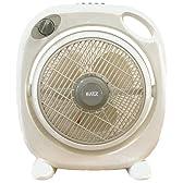 KATZ ボックス型扇風機 タイマー付き KCFB25T