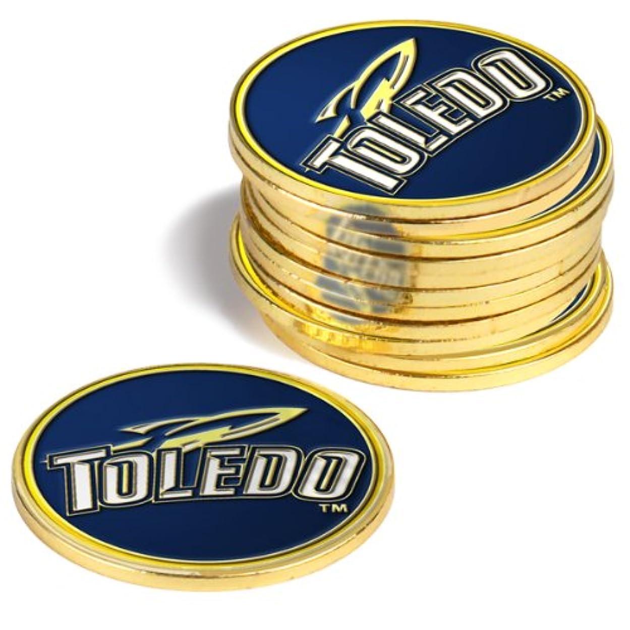 メトロポリタン姿を消す氏Toledo Rockets Golf Ball Markers ( 4 Pack )