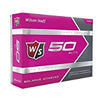 Wilson Staff Fifty Elite Golf Balls, Pack of 12 [並行輸入品]