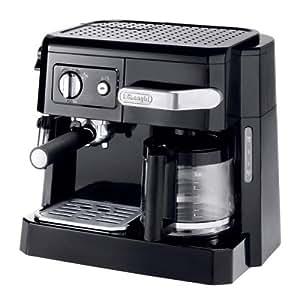 DeLonghi コンビコーヒーメーカー ブラック BCO410J-B
