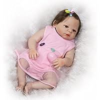 Lilithアップグレード新しい23インチ57 cm Rebornベビー人形がLook Real Vivid Lifelike新生児ソフトシリコンビニールボディ女の子おもちゃ幼児Growthパートナーwithマグネットおしゃぶりダミー