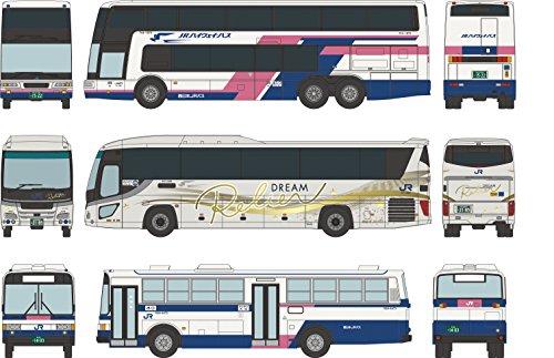 ザ バスコレクション バスコレ 西日本ジェイアールバス発足 30周年記念 3台 ジオラマ用品