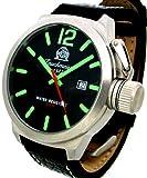 [トーチマイスター1937]Tauchmeister1937 腕時計 ドイツ製二戦ドイツ海軍U-BOOT潜艦軍用復刻SWISS-DATE T0161(並行輸入品)