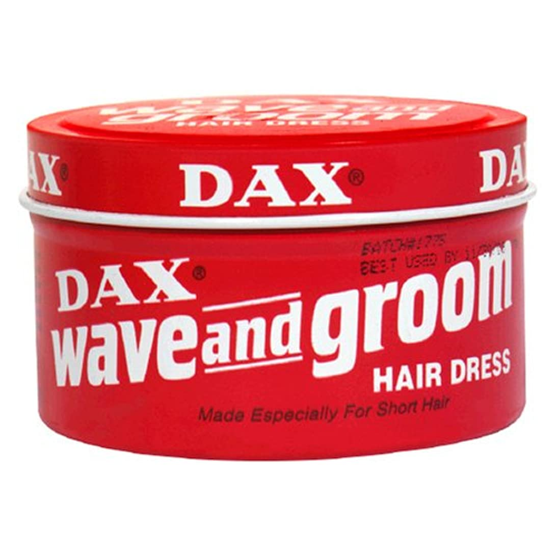 迅速閉塞海峡Dax Wave & Groom Hair Dress 99 gm Jar (Case of 6) (並行輸入品)