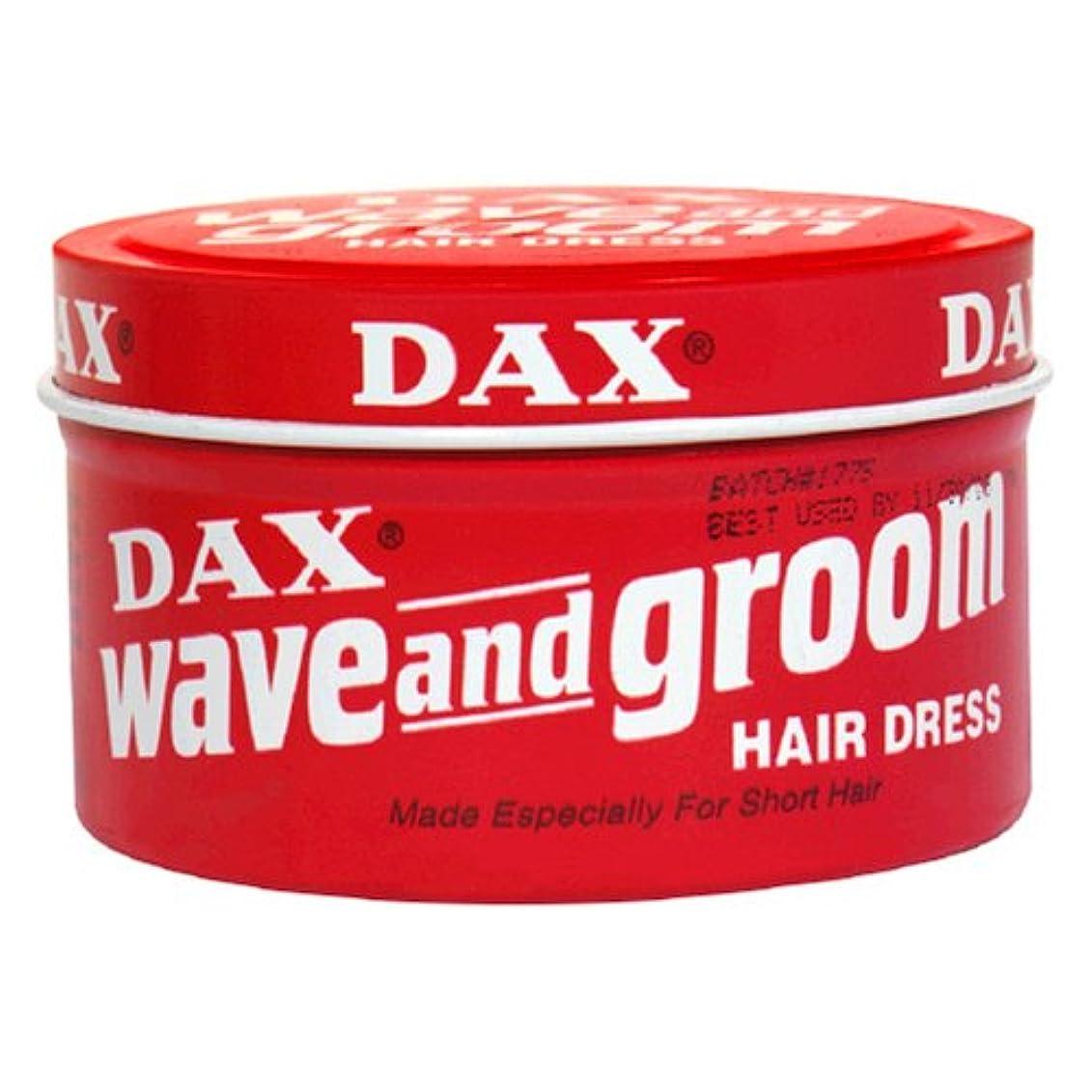 蒸発ぐったり統計Dax Wave & Groom Hair Dress 99 gm Jar (Case of 6) (並行輸入品)