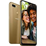 Optus Oppo Ax7 Mobile Phone, Gold,6.2 inches