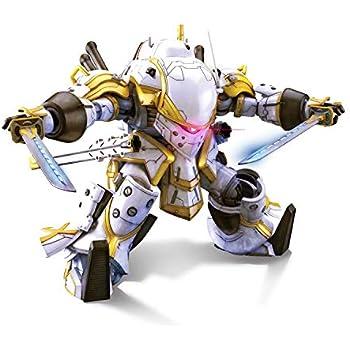 HG サクラ大戦 霊子戦闘機・無限(神山誠十郎機) 1/24スケール 色分け済みプラモデル