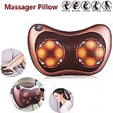 8 Driver Massage Pillow Home Car Massager Cushion Neck Back Shoulder Body Legs