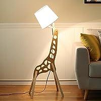 フロアランプ 木製 カラー モダン ミニマリスト ソリッド ウッド リビングルーム ホテル 寝室 勉強用