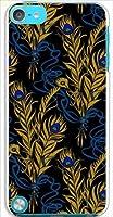 sslink iPodTouch5 アイポッドタッチ5 ハードケース ca628-1 羽 レトロ ポップ クジャク 孔雀 スマホ ケース スマートフォン カバー カスタム ジャケット apple