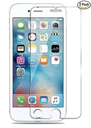 ILUXUS® iPhone 7 ガラスフィルム 液晶保護フィルム 4.7インチ用 強化ガラス 【 3D Touch対応 / 硬度9H / 気泡防止 】