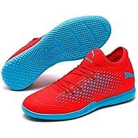 PUMA Men's Future 19.4 IT Football Boots, Red Blast-bleu Azur