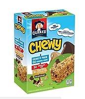 Quaker Chewy Granola Bars, Variety Pack クエーカーチュイーグラノーラバー、バラエティパック1,440g [並行輸入品]
